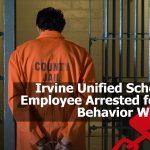 Handcuffed Irvine prisoner in jail