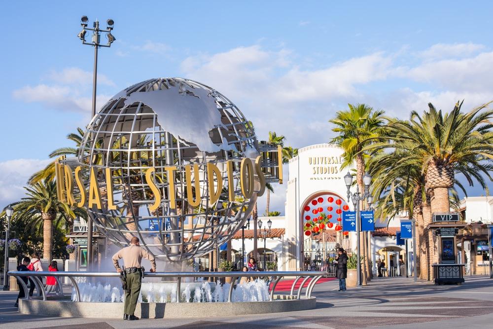 Universal Studios, Burbank. San Fernando Valley East