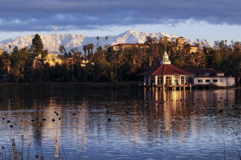 The Pavilion on Lake Norconian. Norco, California. Corona and Norco