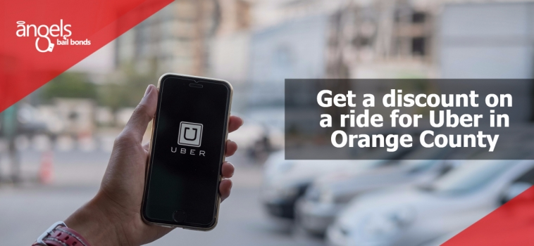 Get a discount in a ride for Uber in Orange County