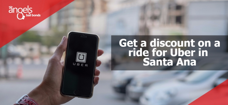 Get a discount on a ride for Uber in Santa Ana