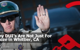 Why DUI's Are Not Just For Booze in Whittier, CA